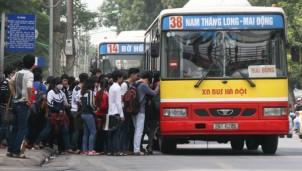 Hà Nội dự kiến tăng 1.170 lượt xe bus dịp Tết Nguyên đán