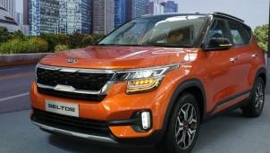 Kia Seltos giá chỉ từ 589 triệu đồng lộ diện tại thị trường Việt