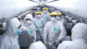 Thông tin mới về sức khỏe tổ bay thực hiện chuyến bay đến Vũ Hán