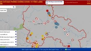 Bản đồ COVID-19 cập nhật dịch theo thời gian thực xây dựng hành trình di chuyển an toàn mùa dịch