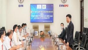 """EVNSPC """"bắt tay"""" FPT để vận hành doanh nghiệp số"""