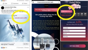 Lập website bán hàng online, lừa đảo lấy thông tin khách hàng