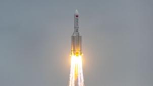 Ngày 9/5, Trái đất phải đối diện với một vụ rơi tên lửa được phóng bởi Trung Quốc