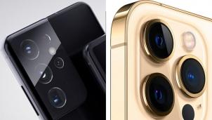 """Màn """"so găng"""" camera iPhone 12 và Galaxy S21: Cán cân nghiêng về bên nào ?"""