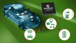 Microchip - Máy thu phát LAN8770 tiết kiệm năng lượng nhất trên thế giới