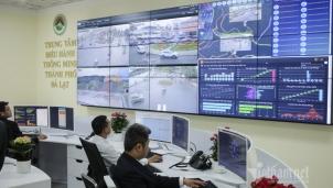 Những hình ảnh ấn tượng tại Trung tâm điều hành thông minh Đà Lạt