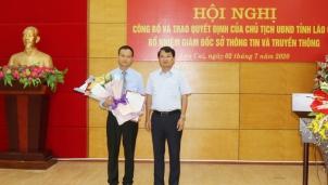 Tân giám đốc Sở Thông tin và truyền thông Lào Cai vừa mới được bổ nhiệm là ai?