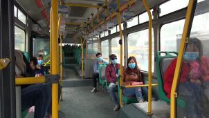 Bộ GTVT yêu cầu mọi đối tượng tham gia vận tải hành khách đều phải đeo khẩu trang