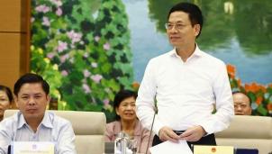 """Bộ trưởng Nguyễn Mạnh Hùng: """"Muốn quản lý được, đầu tiên phải nhìn thấy"""""""