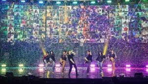 Buổi hoà nhạc trực tuyến của BTS thu hút gần 1 triệu người theo dõi