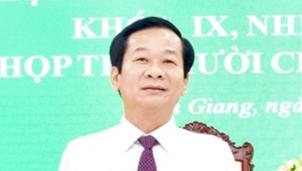Chân dung tân Chủ tịch UBND tỉnh Kiên Giang Đỗ Thanh Bình vừa mới được bầu