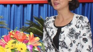 Chân dung tân Phó Chủ tịch UBND tỉnh Bình Phước Trần Tuyết Minh mới được bầu