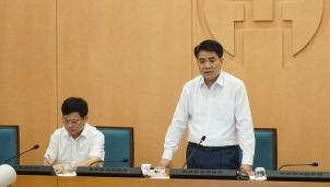 Chủ tịch Nguyễn Đức Chung: Trường hợp ủ bệnh lâu mà đi lại sẽ phát tán virus gây nguy hiểm rất lớn
