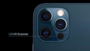 Công dụng của máy quét cảm biến LiDAR trên iPhone 12