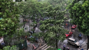 Dự báo thời tiết Hà Nội ngày mai 2/12: Không khí lạnh tràn về kèm theo mưa và rét 16 độ C
