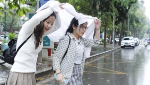 Hà Nội sẽ bước vào hè sau đợt không khí lạnh yếu cuối mùa
