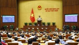 Kỳ họp thứ nhất Quốc hội khoá XV: Đưa công tác phòng chống dịch COVID-19 vào báo cáo tại Nghị trường