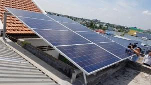Long An: Điện mặt trời áp mái giảm gánh nặng cho đời sống nhân dân