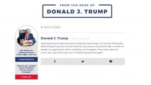 Ông Trump bất ngờ đóng cửa mạng xã hội của riêng mình