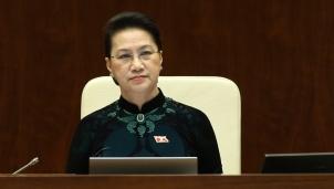 Quốc hội tiến hành quy trình miễn nhiệm chức danh Chủ tịch Quốc hội đối với bà Nguyễn Thị Kim Ngân