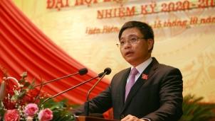 Tân Bí thư tỉnh uỷ Điện Biên nhiệm kỳ 2020 - 2025 vừa mới được bầu là ai?
