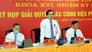 Tân Chủ tịch HĐND tỉnh Thái Bình vừa mới được bầu là ai?