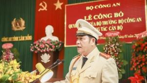 Tân Giám đốc Công an tỉnh Lâm Đồng vừa mới được bổ nhiệm là ai?