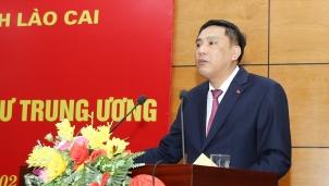 Tân Phó Bí thư Tỉnh uỷ Lào Cai vừa mới được bổ nhiệm là ai?