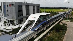 Tàu điện nhanh nhất thế giới do Trung Quốc chế tạo và sản xuất