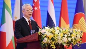 Tổng Bí thư, Chủ tịch nước Nguyễn Phú Trọng: ASEAN giữ gìn một khu vực hòa bình, ổn định, đoàn kết và thống nhất