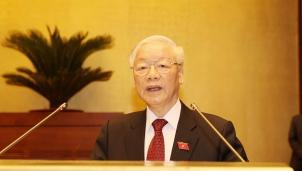 Tổng Bí thư Nguyễn Phú Trọng: 'Tiếp tục nâng cao hơn nữa chất lượng và hiệu quả hoạt động của Quốc hội trong giai đoạn mới'