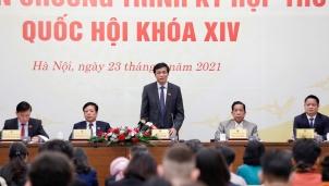 Tổng thư ký Nguyễn Hạnh Phúc: Quốc hội lần đầu tiên bầu đương kim Thủ tướng Chính phủ làm Chủ tịch nước
