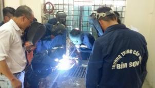Trường Trung cấp nghề Bỉm Sơn: Đào tạo nghề gắn với nhu cầu của xã hội và doanh nghiệp