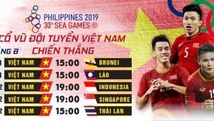 Truyền hình MyTV phát toàn bộ các trận đấu của U22 Việt Nam tại Sea Games 30