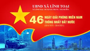 UBND xã Lĩnh Toại kỷ niệm 46 năm Ngày Giải phóng miền Nam 30/4