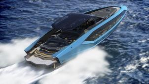 Cận cảnh siêu du thuyền Tecnomar for Lamborghini 63 giá 3,4 triệu USD