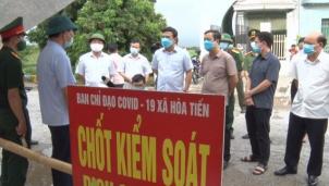 Thái Bình: Kịp thời, quyết liệt phòng chống dịch Covid - 19