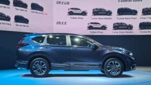 Thị trường xe Việt Nam chính thức ra mắt Honda CR-V 2020, giá chỉ từ 998 triệu đồng