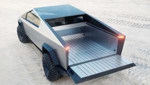 """Xe bán tải điện Cybertruck làm bằng thép không gỉ - Sản phẩm """"có một không hai"""" của Tesla"""