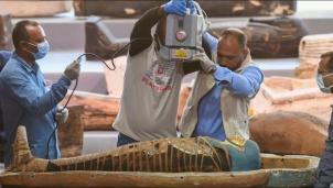 Ai Cập phát hiện 100 bộ áo quan 2.500 tuổi cùng xác ướp