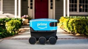 Amazon thử nghiệm robot giao hàng