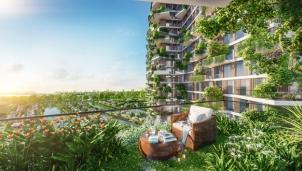 Báo Singapore khen ngợi tòa tháp xanh tại Ecopark
