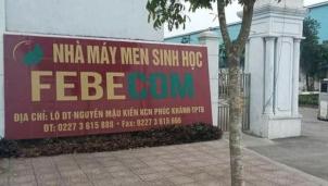 Bên trong nhà máy Febecom không sản xuất thức ăn chăn nuôi mà là ...Rượu