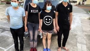 Cách ly 4 người bơi sông từ Trung Quốc nhập cảnh trái phép vào Việt Nam