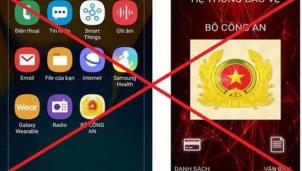 Cài đặt app giả mạo Bộ Công an bị mất 6,1 tỉ đồng