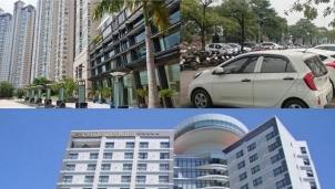 Hàng loạt bất động sản được các ngân hàng mang ra thanh lý