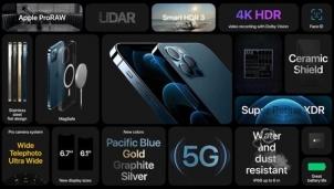 iPhone 12 Pro và 12 Pro Max ra mắt với màn hình lớn hơn, hỗ trợ 5G