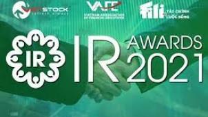 IR Awards 2021: Mời doanh nghiệp hiệu chỉnh kết quả Khảo sát Công bố thông tin