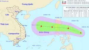 Miền Trung lại mưa to từ 24-10 do Áp thấp nhiệt đới