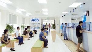 Ngân hàng ACB lãi trước và sau thuế tăng lần lượt 71% và 70%